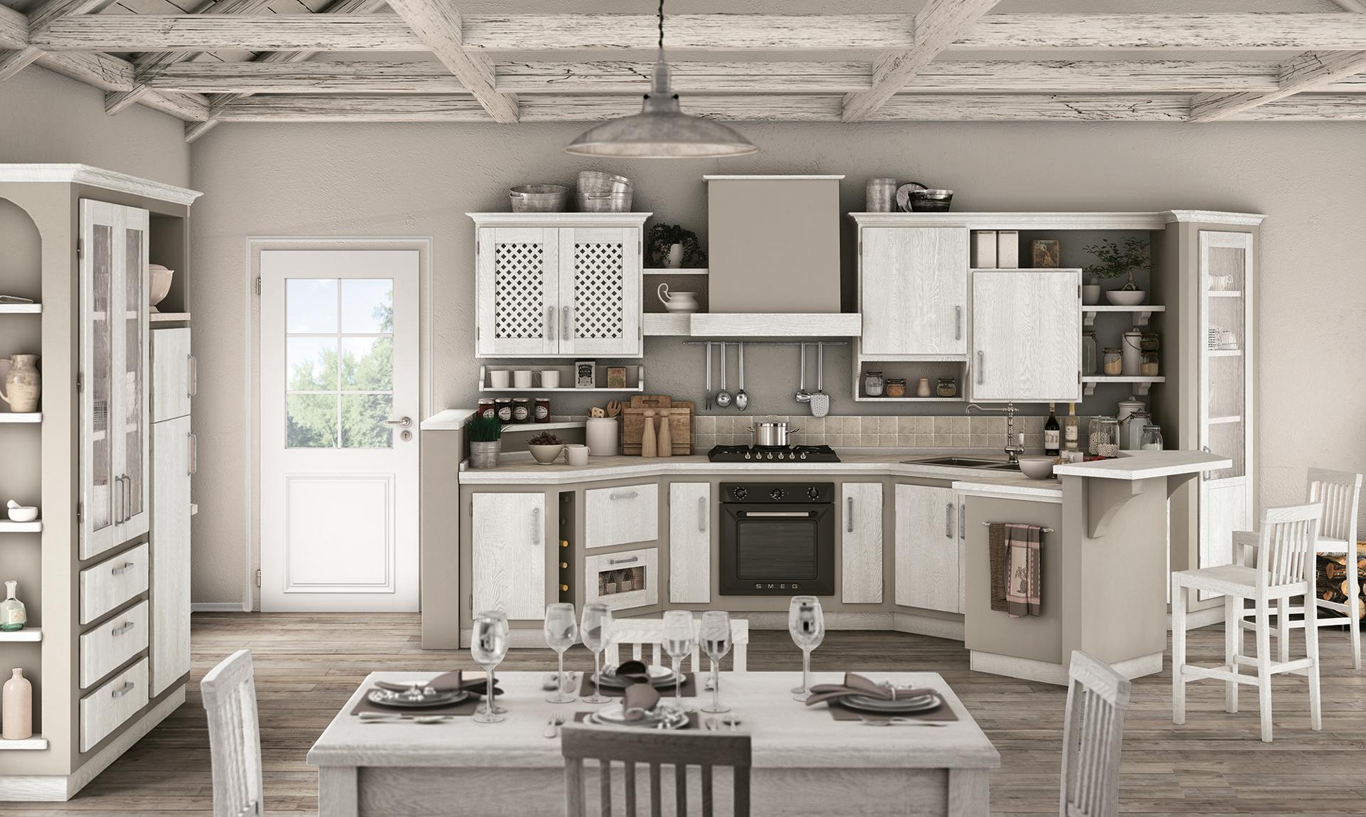 Rebecca - Borgo Antico Cucine - Gruppo Lube